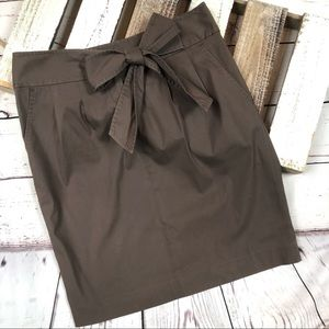 Elie Tahari Skirt with Bow and Pockets